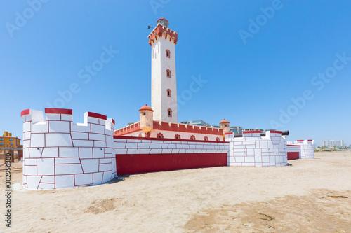 Valokuva  Chile La Serena monumental lighthouse