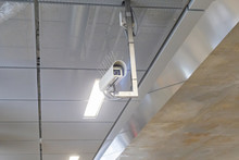 Security Camera With Spikes