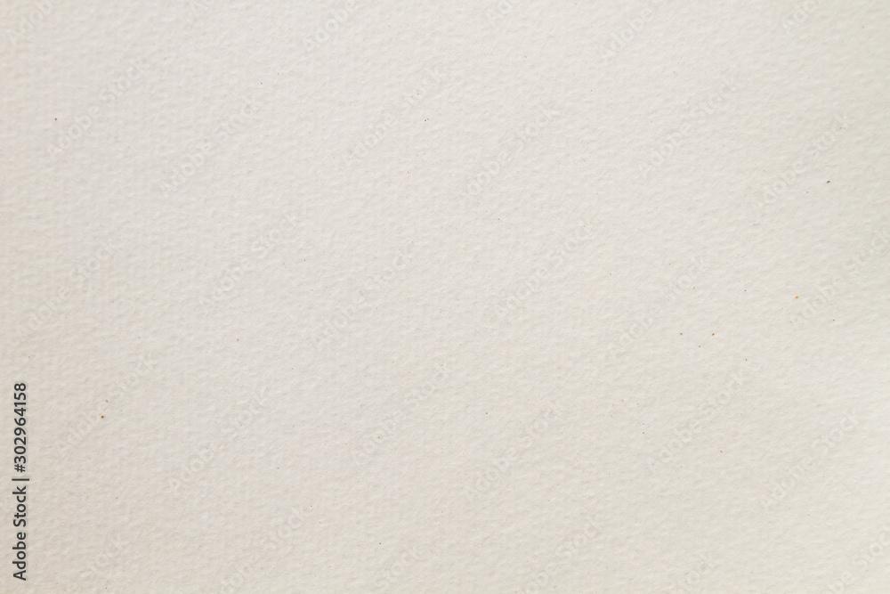 Fototapeta Blank watercolor drawing paper texture