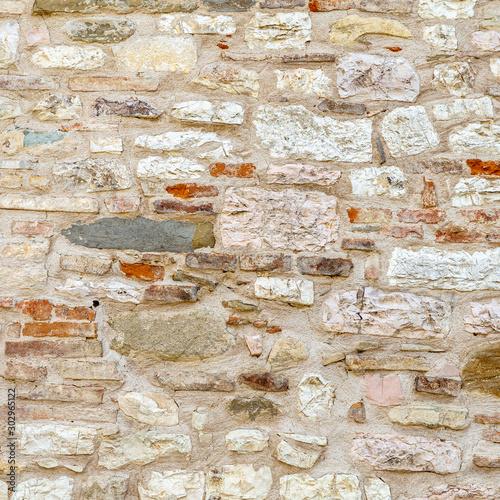 Fényképezés  Stone wall texture background