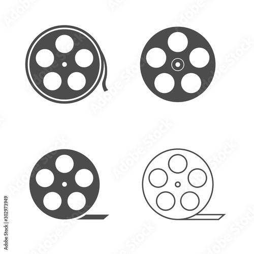 Fotografie, Tablou Film reel icon