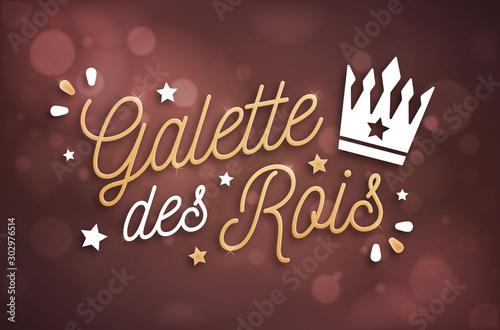 Galette des Rois - Épiphanie Tablou Canvas