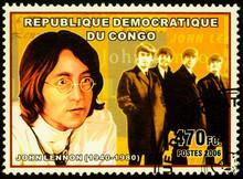 English Musician John Lennon O...
