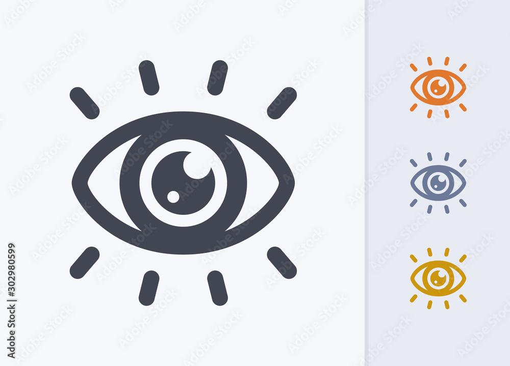 Fototapeta Eye Catching - Pastel Stencyl Icons