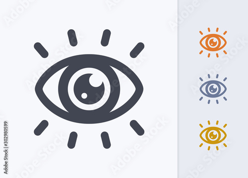 Fotomural Eye Catching - Pastel Stencyl Icons