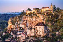 Rocamadour Historical Old Town, France