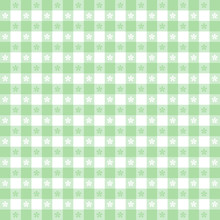 Gingham Tablecloth Seamless Pa...