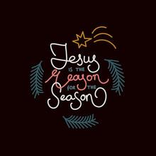 Minimal Bold Christmas Greeti...