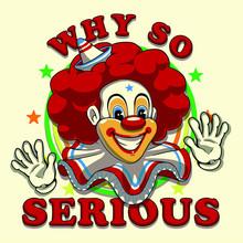 Clown Illustration Graphic Des...