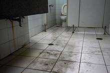 Dirty Toilet In Public Buildin...