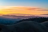 Sunrise over the East Bay