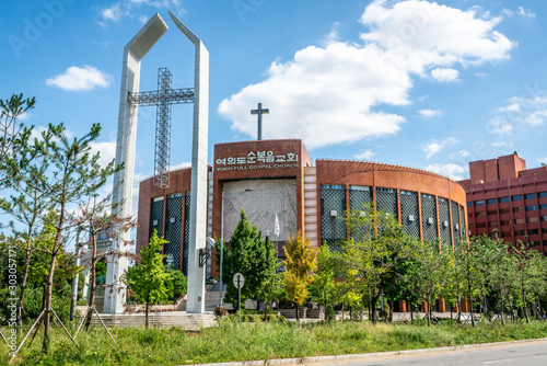 Foto Yoido full gospel church the World's Largest Megachurch on Yeouido island Seoul