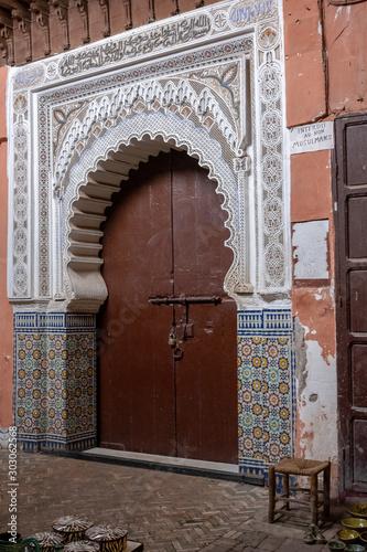 Maroko, Marrakesz, Podróże, Afryka, Wakacje, Pustynia Billede på lærred