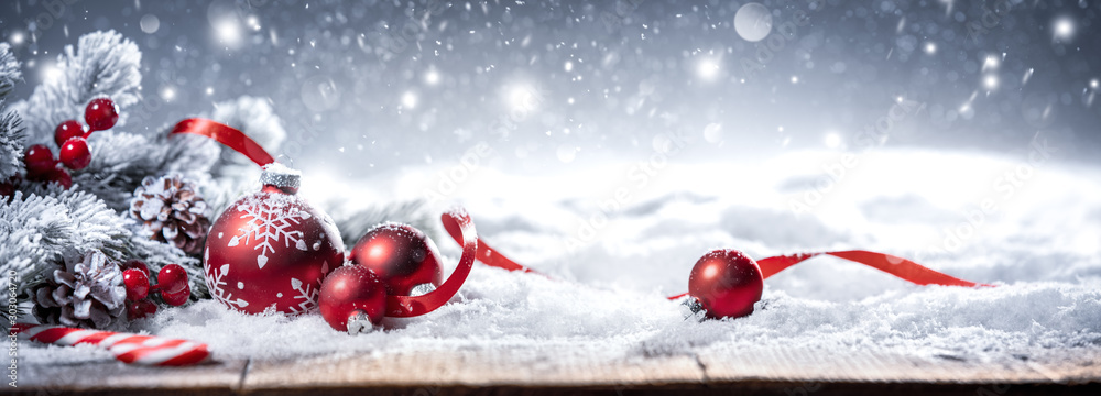 Fototapety, obrazy: Christmas decoration