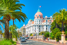 Promenade Des Anglais In Nice,...