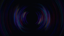 Boom Sound Wave Abstract Background