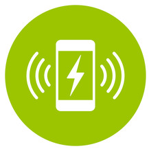 Phone Charging Point Vector Icon