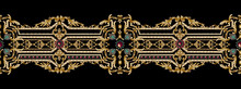 Decorative Elegant Luxury Design.Vintage Elements In Baroque, Rococo Style.Design For Cover, Fabric, Textile, Wrapping Paper .