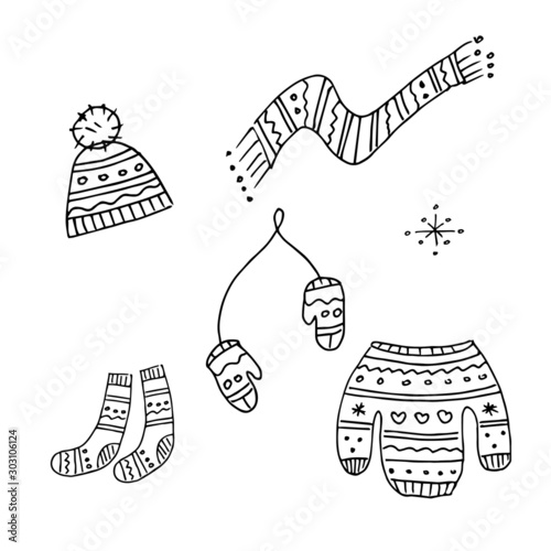Mittens Winter Season Coloring Pages : Color Luna in 2020 ... | 500x500