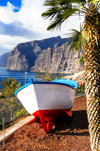 Tenerife holidays - beautiful Los Gigantes . Canary islands