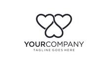 Three Love For Logo Design Con...