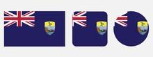 Saint Helena Flag, Vector Illu...