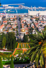 Bahai Temple In Haifa Mount Ca...