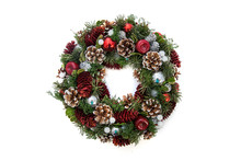 Christmas Wreath For Advent Ca...