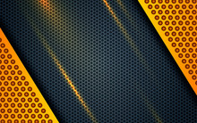 Yellow Abstract Backgrund Vect...