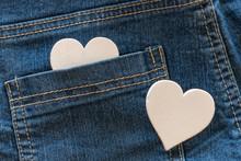 Heart In Blue Jeans Pocket