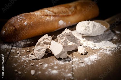 Valokuvatapetti Levure de boulanger