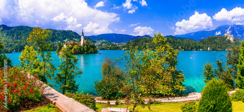 Lake Bled is one of the most picturesque place to visit in Slovenia