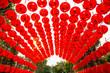 Leinwanddruck Bild - Chinese red lantern (decoration for Chinese New Year Festival) in Bangkok, Thailand