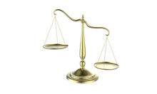 3d Illustration Of Balance Sca...