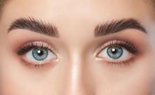 Beautiful Woman With Long Eyel...