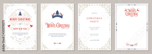 Business and Corporate Holiday Cards. Canvas
