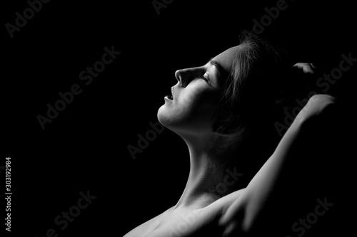 Fotografia sensual young woman