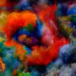 canvas print picture - Spirit of Virtual Color