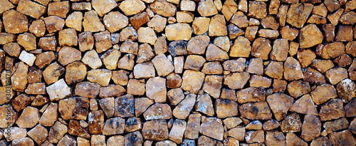 Obraz Stones, rocks and boulders - as a stone wall background texture / abstract design. - fototapety do salonu