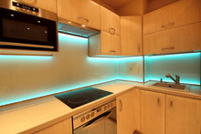 Modern Luxury Kitchen With Cus...
