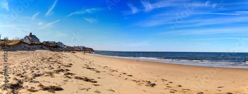 Cuadros en Lienzo Sea Street Beach in Dennis, Massachusetts on Cape Cod