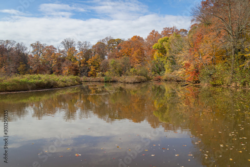 Evans Pond in Haddonfield New Jersey Canvas