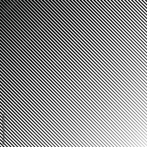 Fototapeta Black oblique triangle stripes. Diagonal shape. Monochrome background. Design element for prints, web, template and textile pattern obraz na płótnie