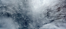 Abstract Frozen Water.Ice Text...