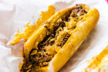 Philly Cheesesteak With Onions...