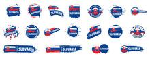 Slovakia Flag, Vector Illustra...
