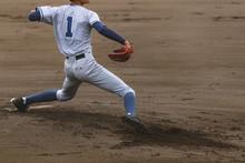 高校野球 マウンドのエース