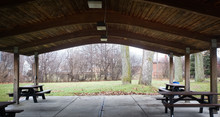 Picnic Pavilion In Local Park ...