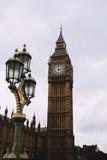 Fototapeta Big Ben - Big ben o Elizabeth tower en la ciudad de Londres, Reino Unido.