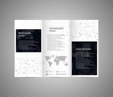 Abstract Brochure Design. Tech...